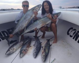This couple killed it on their Carolina Beach fishing charter with Southern Sportfishing & Capt Andy Eubank